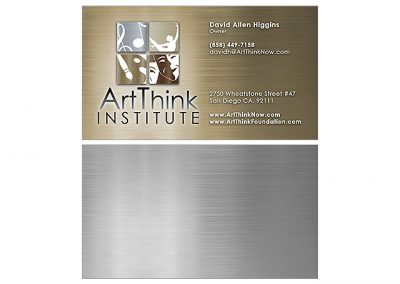 art-institute-business-cards