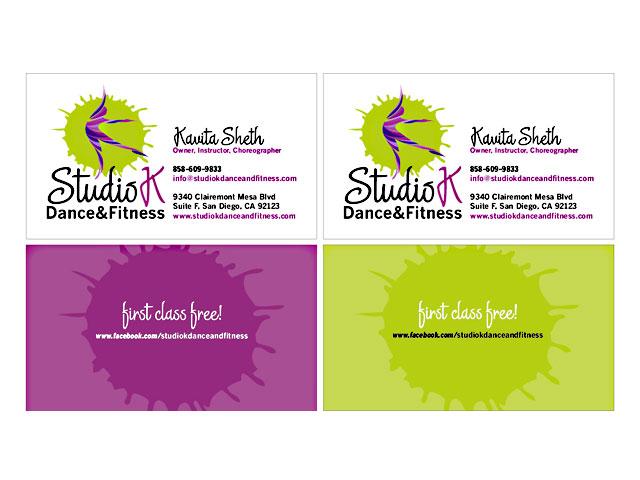 Business Card Portfolio Go West Design