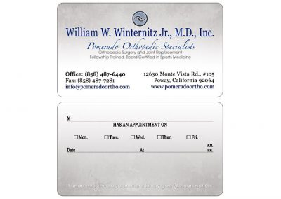 orthopedic-business-cards