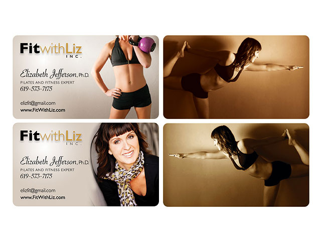 Business card portfolio go west design personal trainer business cards colourmoves
