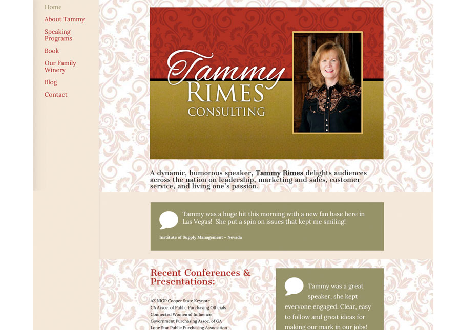 http://www.tammyrimes.com