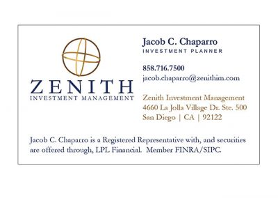 ZENITH Investment Management
