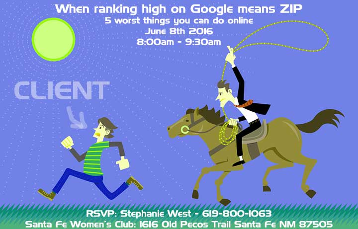 When ranking high on Google means ZIP