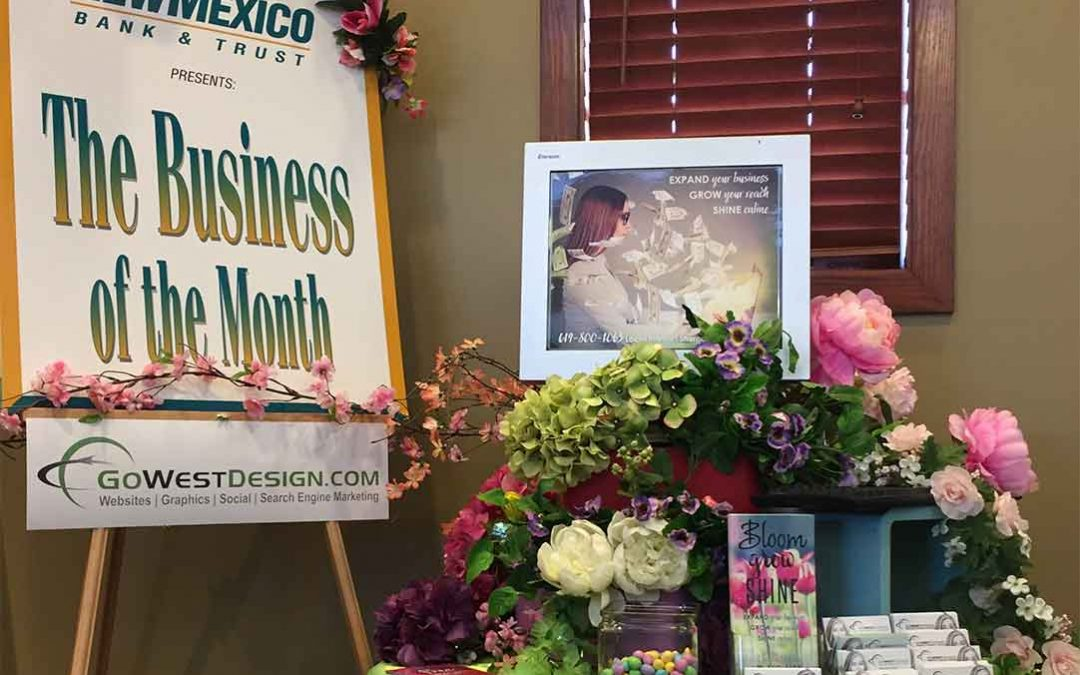 Award – New Mexico Bank & Trust Business of the Month