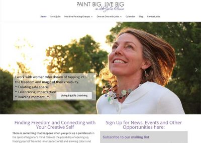PaintBigLiveBig-JulieClaire
