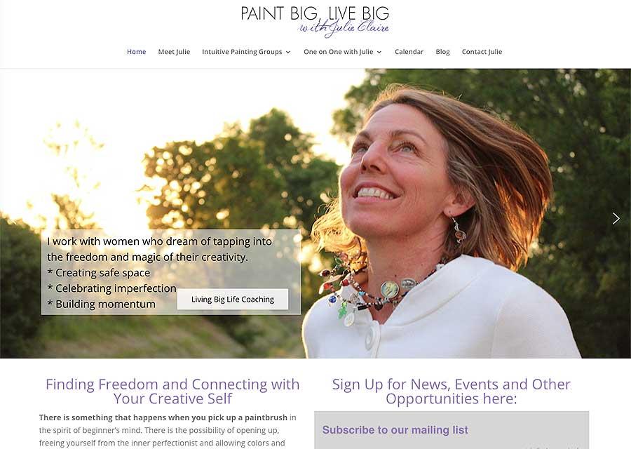 PaintBigLiveBig-JulieClaire